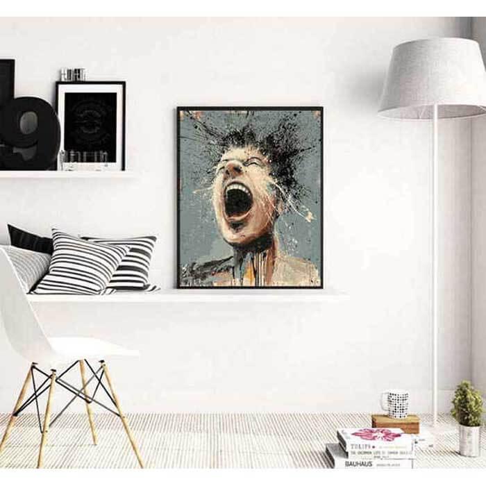 Malen nach Zahlen Abstrakte Kunst Gesichter Modern Art
