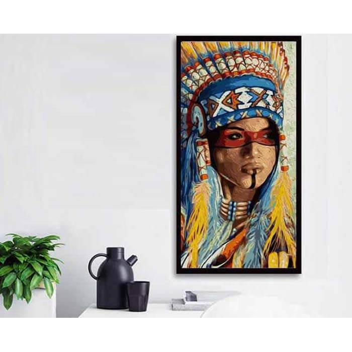 Painting by numbers Native American tradition North America