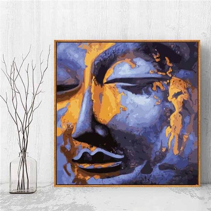 Malen nach Zahlen Buddha Kunst