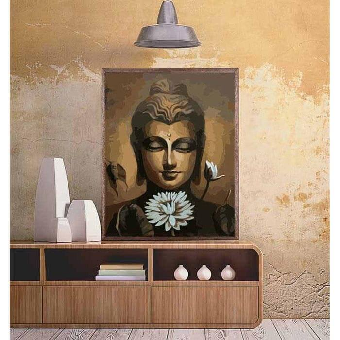 Painting by Numbers - Buddha Meditation