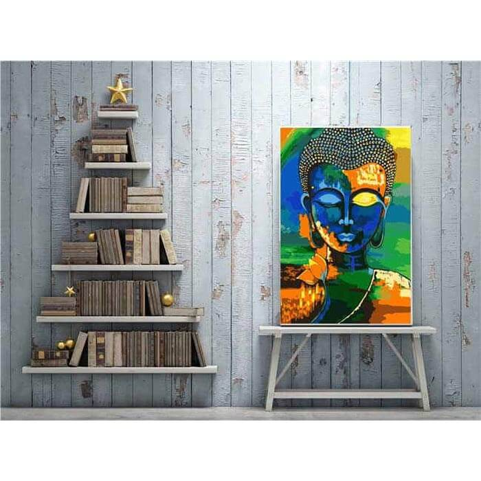 Painting by Numbers - Buddha in Meditation