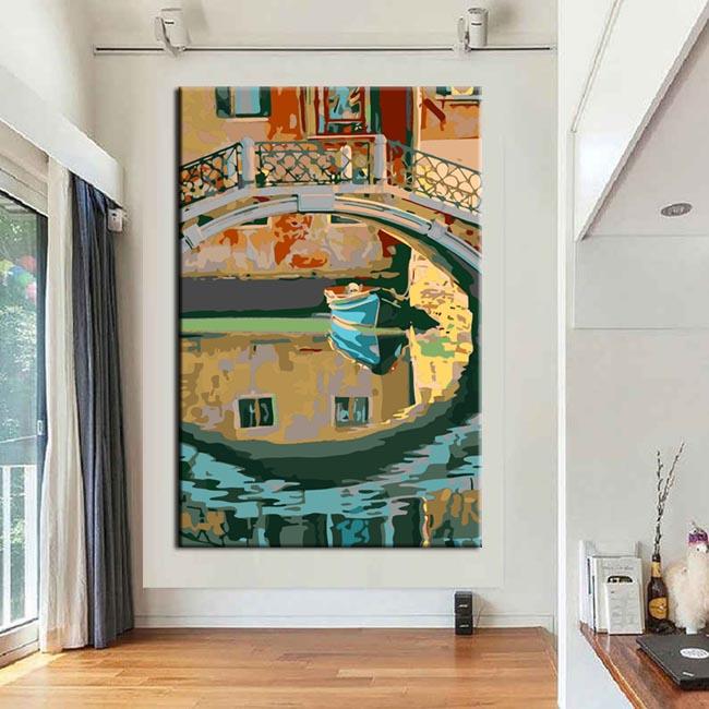 Malen nach Zahlen Kunst Venedig Ansichten