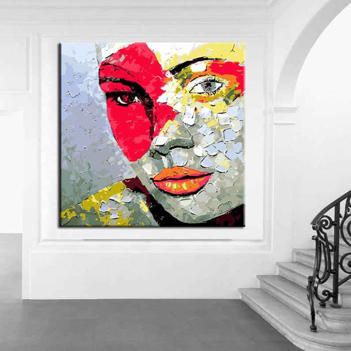 Malen nach Zahlen Moderne Kunst