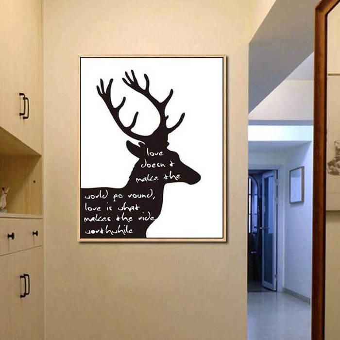 Painting by Numbers deer love