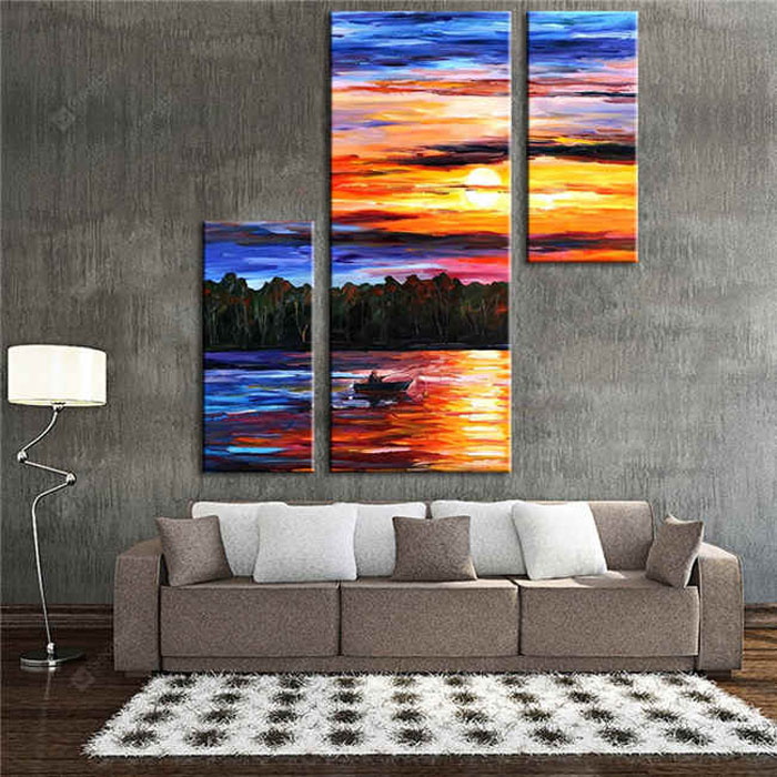myPaintLab Paint by Numbers Art - Hand painted wall art for home décor