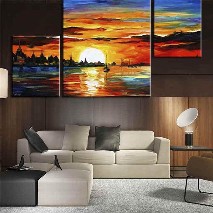 Painting by Numbers Fantasy World - 3 Panel