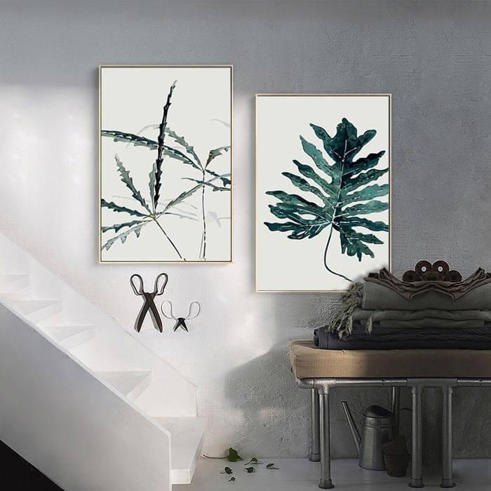 Malen nach Zahlen Pflanze
