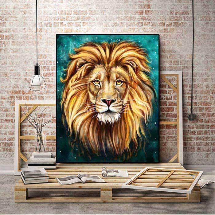 Löwe Malen