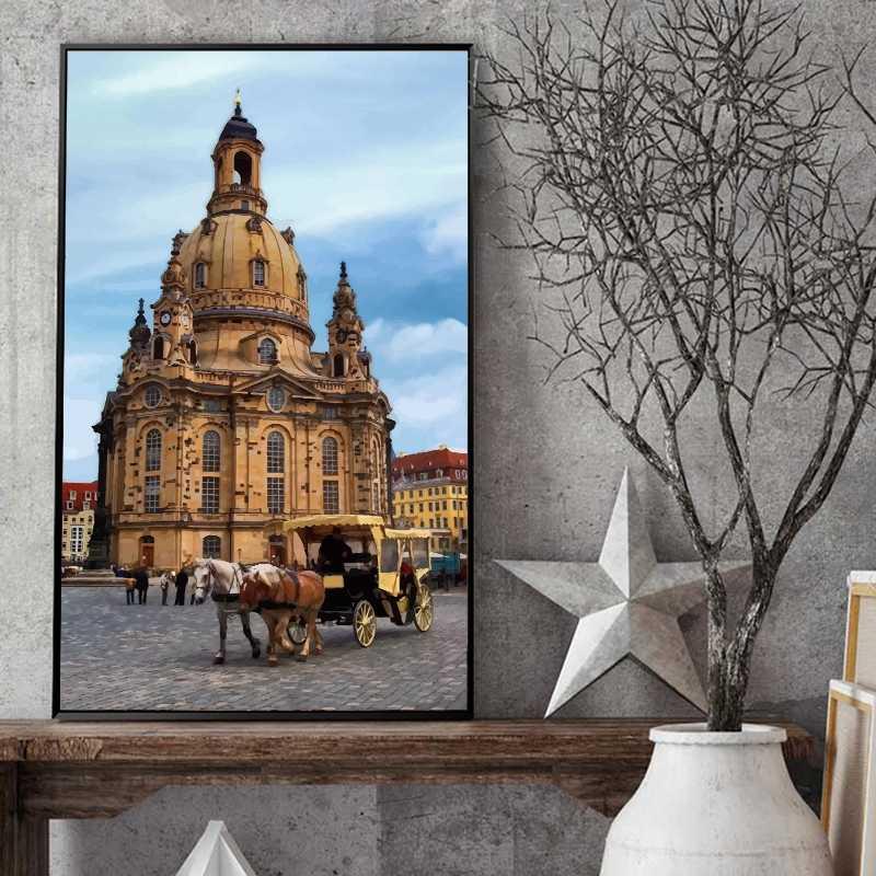 Personalisierte Malen nach Zahlen Motive für Tourismus - Burgen - Schloesser