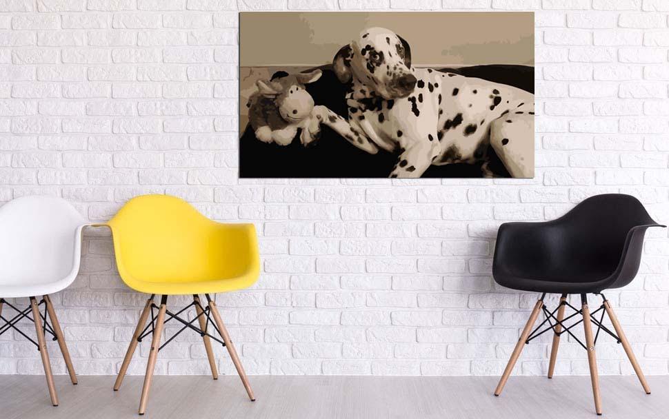 Malen nach Zahlen Wunschmotiv für Haustiere