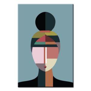 Malen nach Zahlen Kunst Geometische Abstrakte Figuren VI