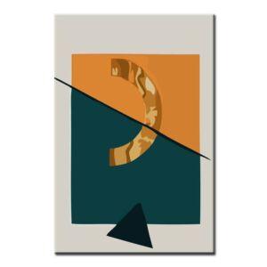 Malen nach Zahlen Kunst Geometische Abstrakte Illustrationen II