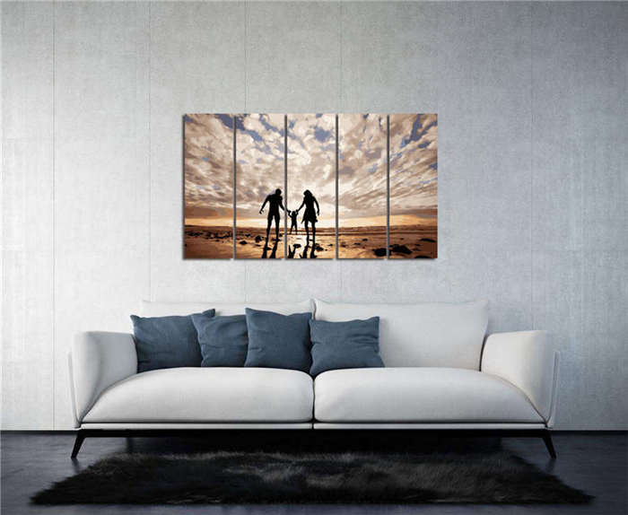 Paint by Numbers - 5 Panel Custom Paint by Numbers (Polyptych)