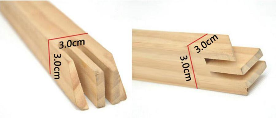 3D wood frame sets for Custom Paint by Numbers in Multi-Panel Designs