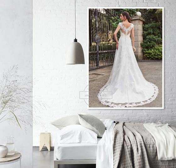 Malen nach Zahlen Foto Hochzeit