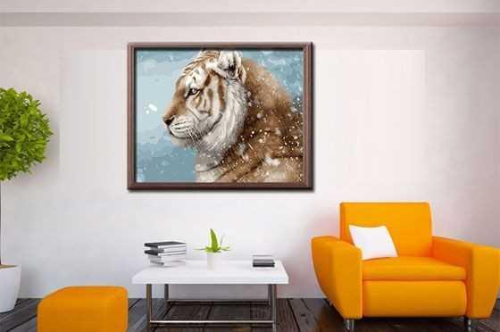 Eigene Bilder Malen nach Zahlen Tier