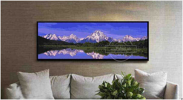 Large Size Paint by Numbers - Panorama Landscape