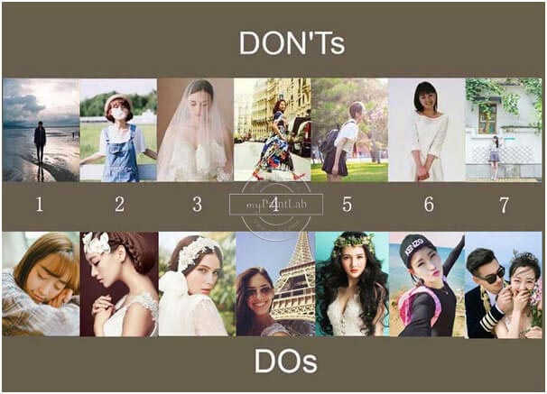 Malen nach Zahlen Dos und Donts