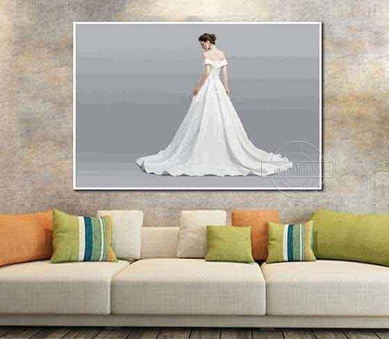 Malen nach Zahlen Hochzeit