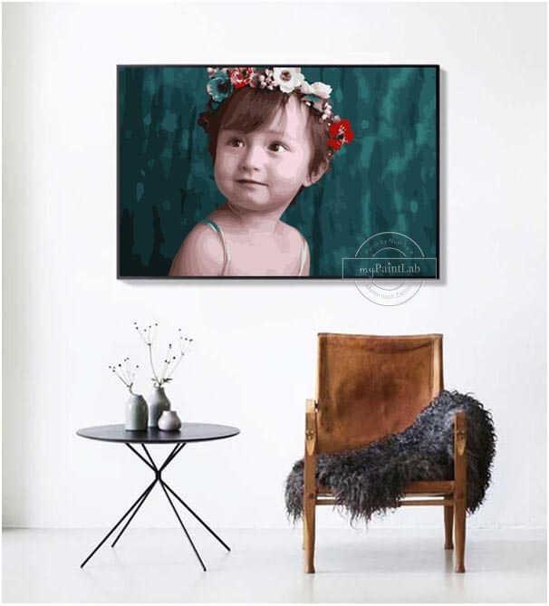 Malen Nach Zahlen - Baby Kind