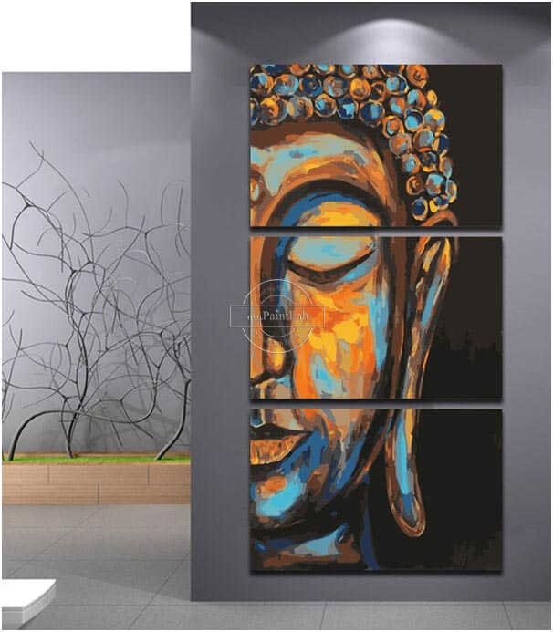 Paint by Numbers for Adults - Buddha
