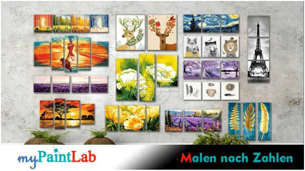 Video mypaintlab Painting by Numbers