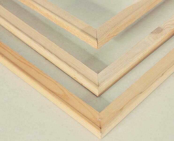 Wood stretcher bars / wood frames for Paint by Numbers canvas